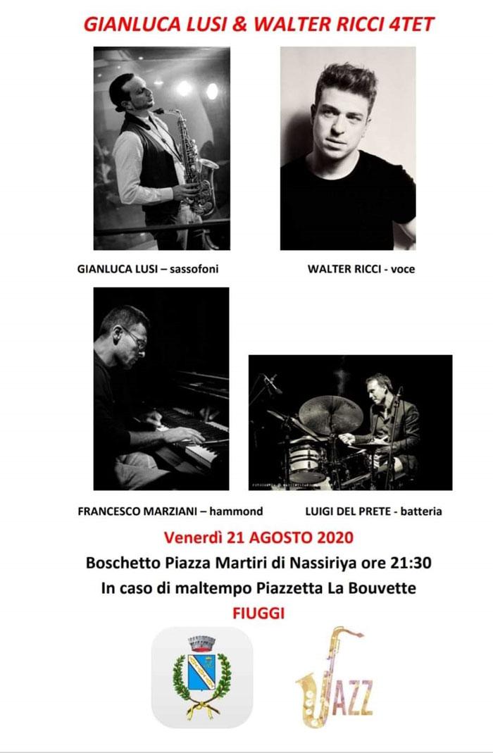 Fiuggi Jazz Locandina