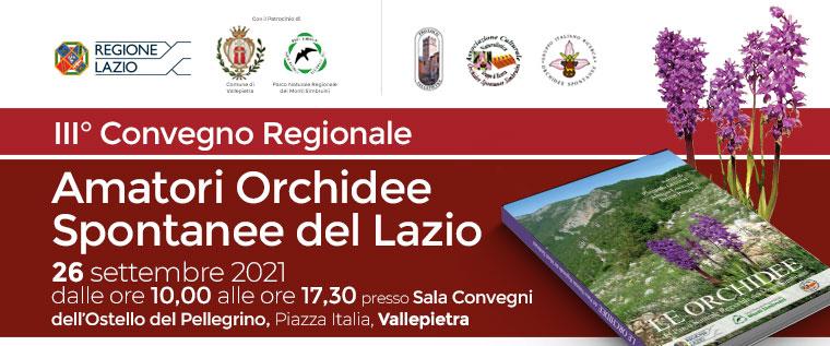 III° Convegno Regionale degli Amatori Orchidee Spontanee del Lazio