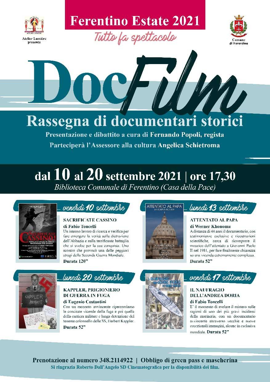 Doc Film Ferentino 2021
