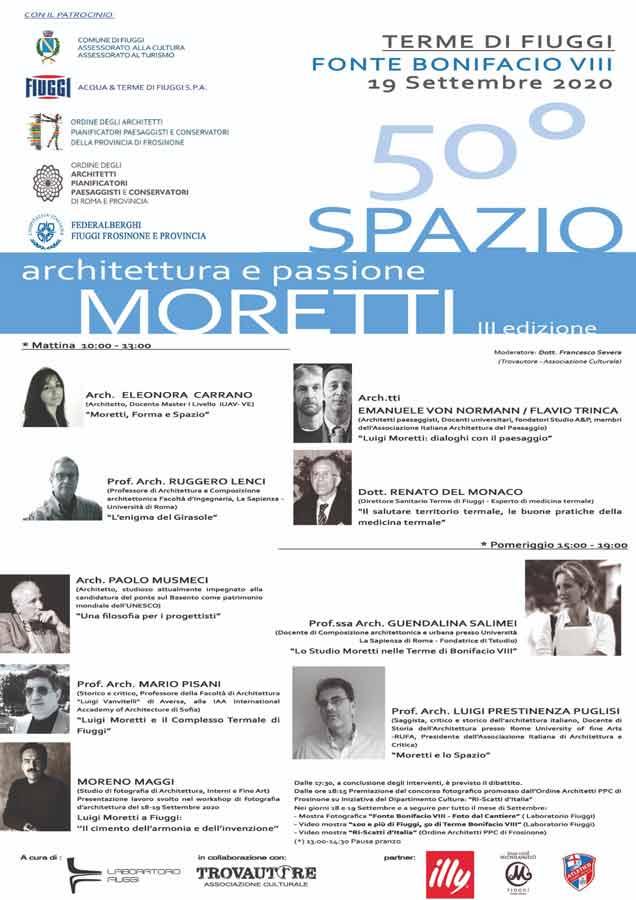 Spazio Moretti 3 edizione