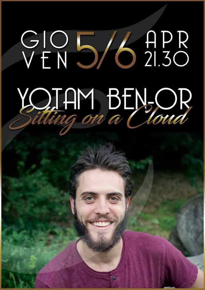 Yotam Ben-Or al Cafè Jazz Club