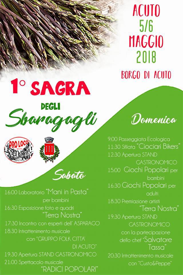 Acuto Sagra Sbaragagli 2018
