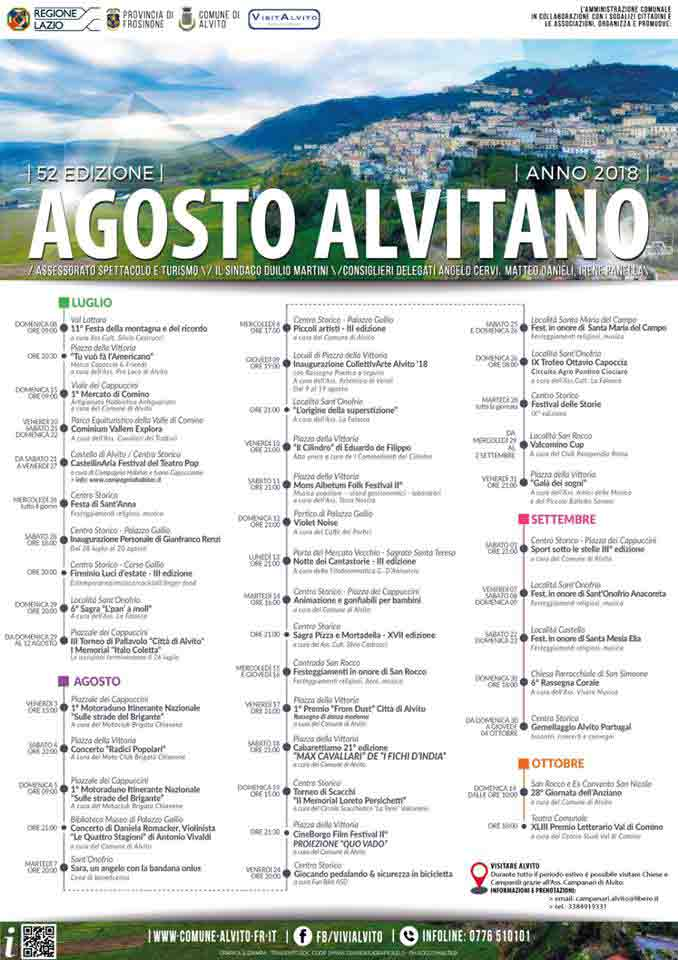 Agosto Alvitiano Locandina