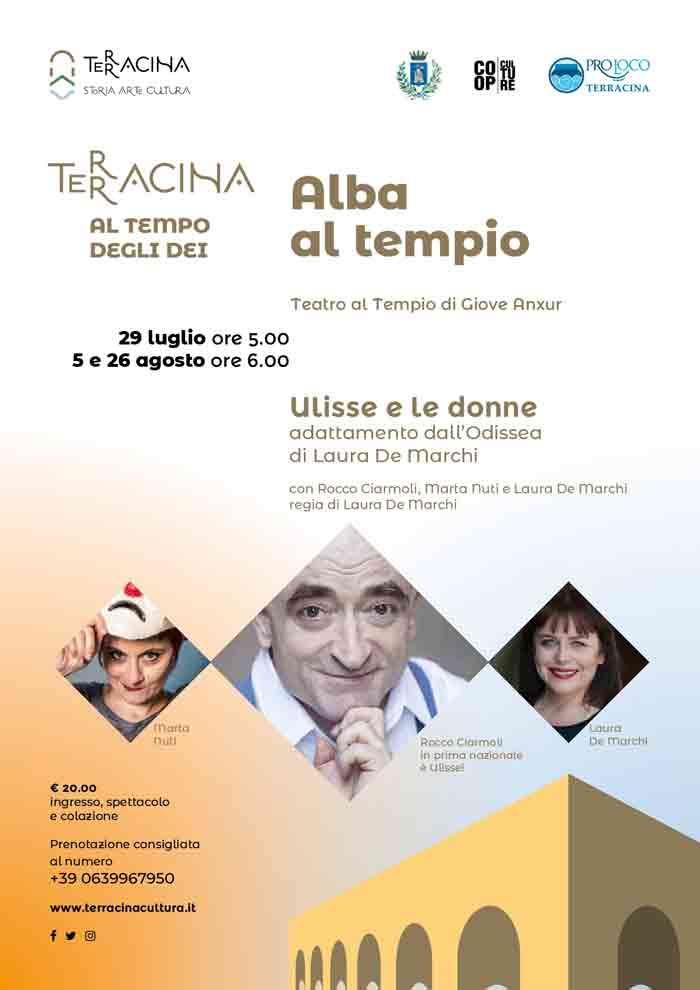 Alba al Tempio Terracina 2018 Locandina
