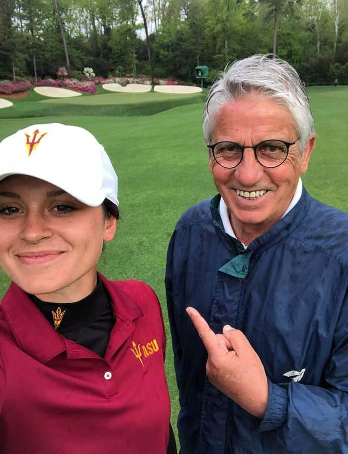 Alessandra Fanali Sandro Fanali Arizona Golf