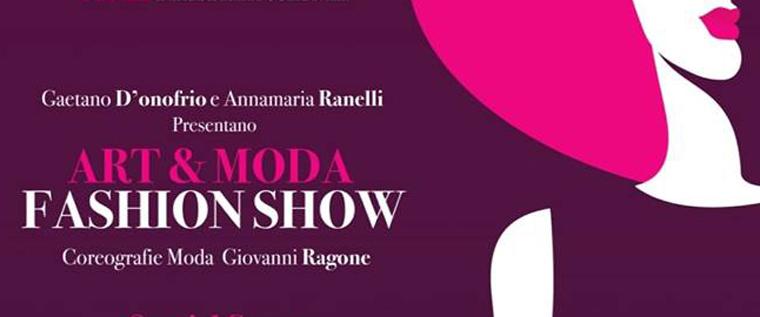 Art & Moda Fashion show ad Anagni