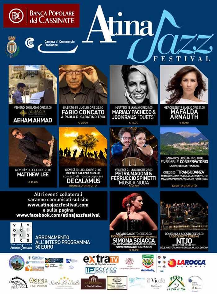 Atina Jazz Programma 2017