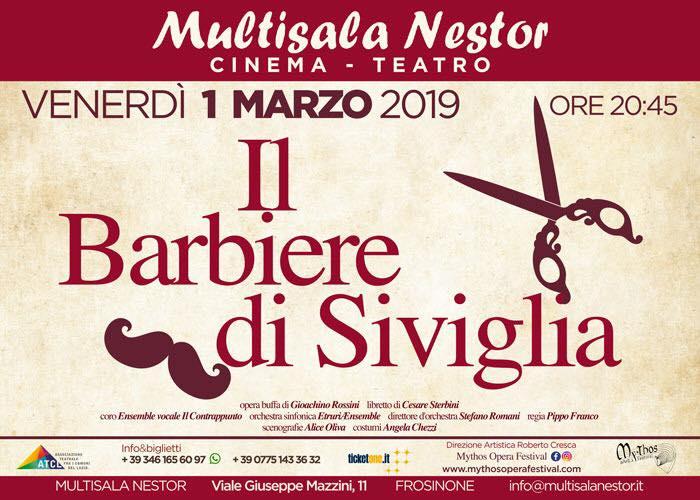 Il Barbiere di Siviglia Frosinone