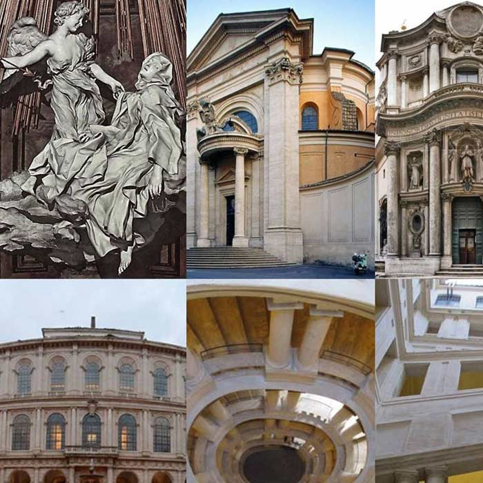 Bernini e Borromini Geni Rivali Roma