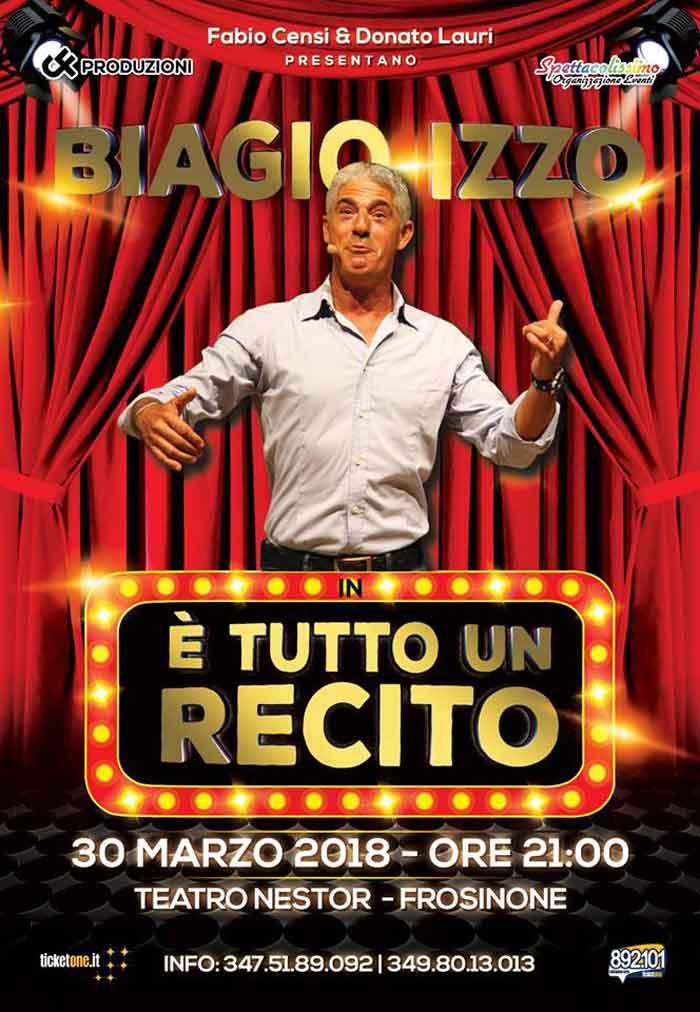 Biagio Izzo Teatro Nestor