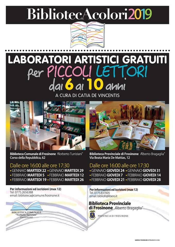 Biblioteca Frosinone Laboratori