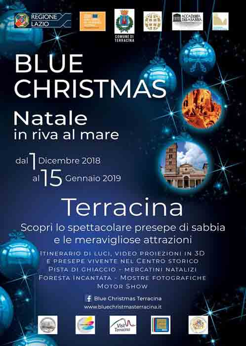 Blue Christmas Terracina Locandina