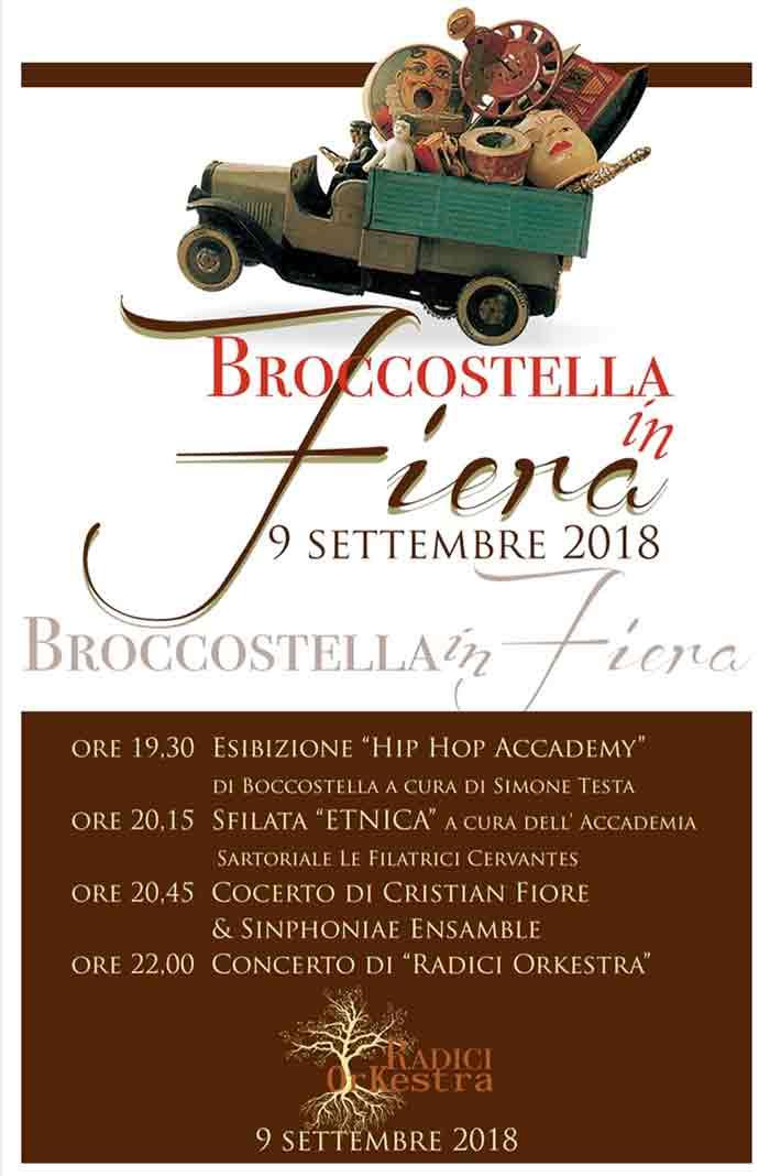 Broccostella in Fiera Locandina 2018