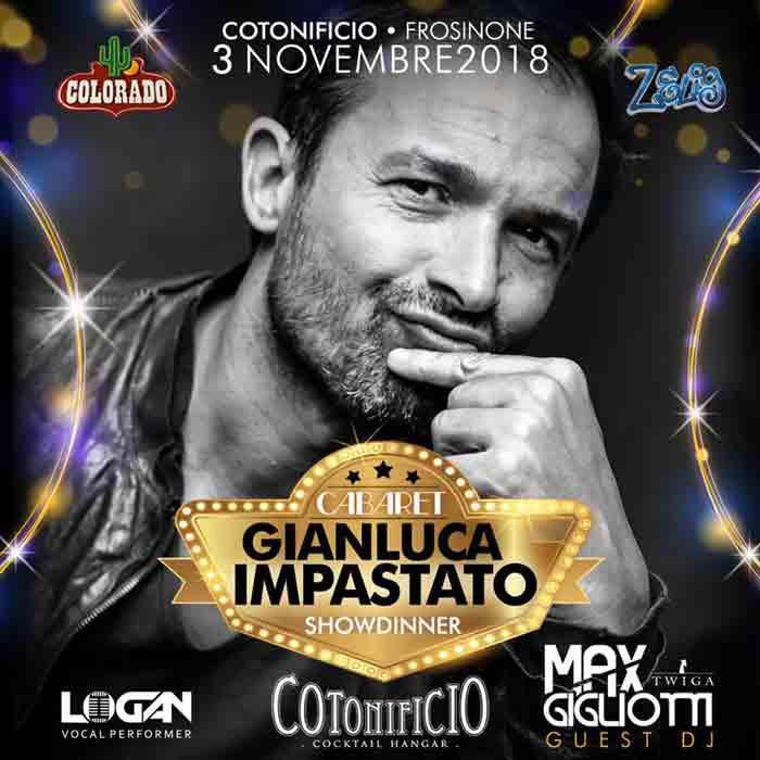 Cabaret Night Cotonificio Locandina