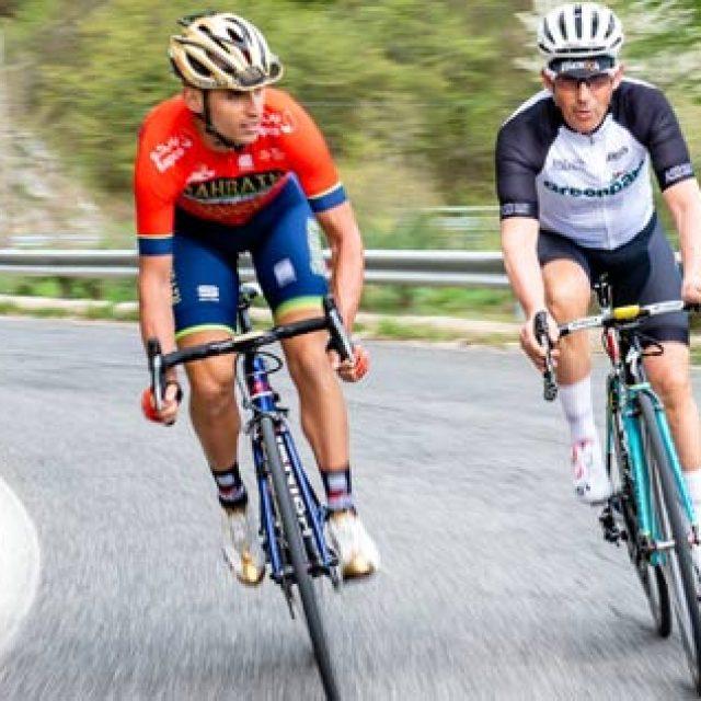 """Valerio Agnoli: """"Il mondo dalla bici è più bello"""""""