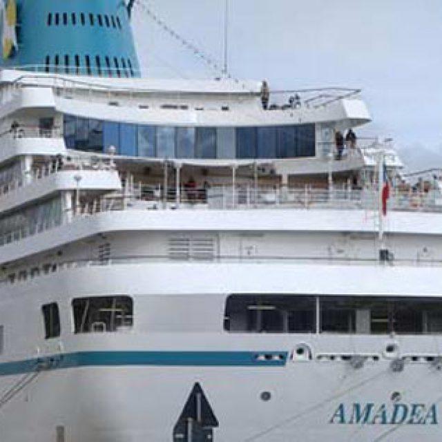 La sosta di Amadea nel golfo di Gaeta