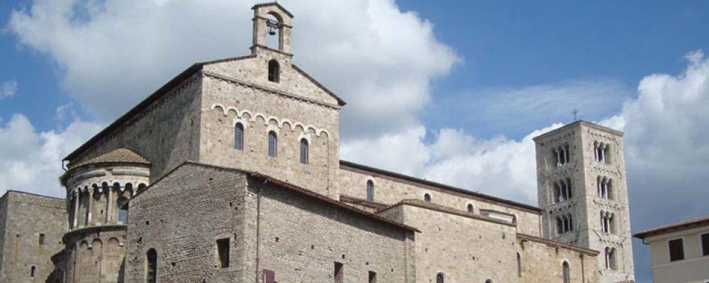 Anagni, luogo romantico nel bel mezzo del Medioevo