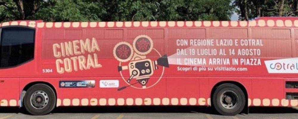 Cotral porta il cinema su quattro ruote nel Lazio
