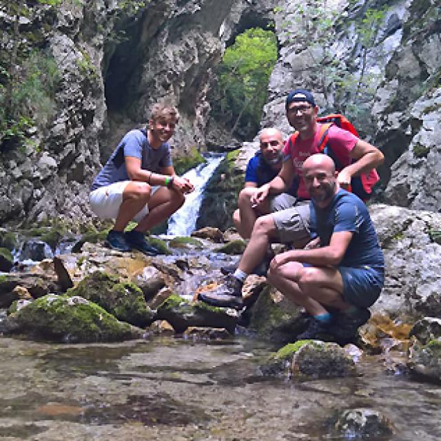 Escursione Trekking Capofiume Ponte dei Santi – Collepardo