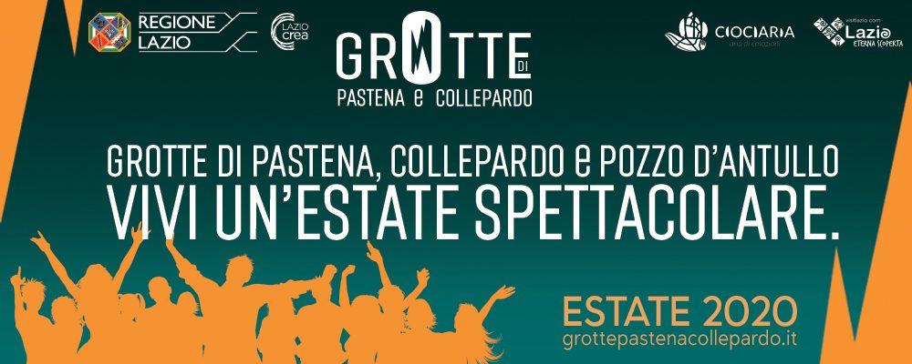 Grotte di Pastena, Collepardo e Pozzo d'Antullo: gli eventi dell'estate 2020