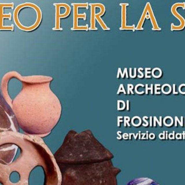 Il Museo Archeologico di Frosinone per la scuola