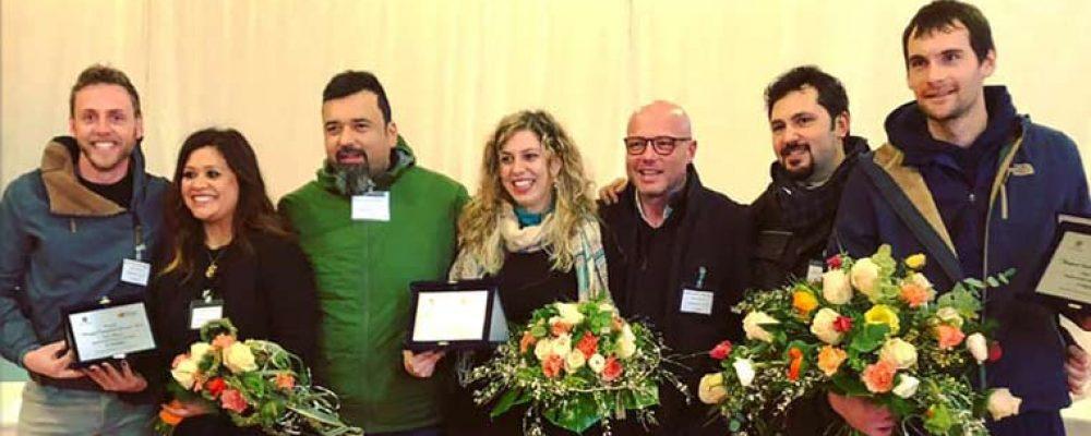 La verolana Mirna Angione nel team dei fioristi a Sanremo