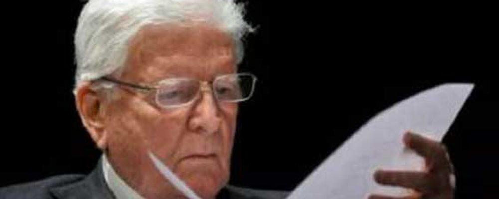 Si è spento Sergio Zavoli, un legame speciale con la Ciociaria