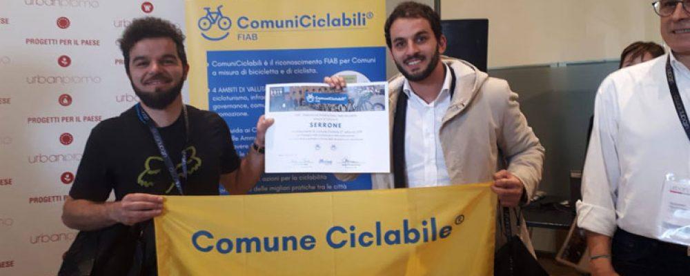 Serrone il primo e unico comune del Lazio Bike-Friendly