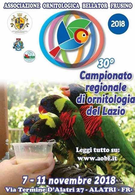Campionato Ornitologia Alatri