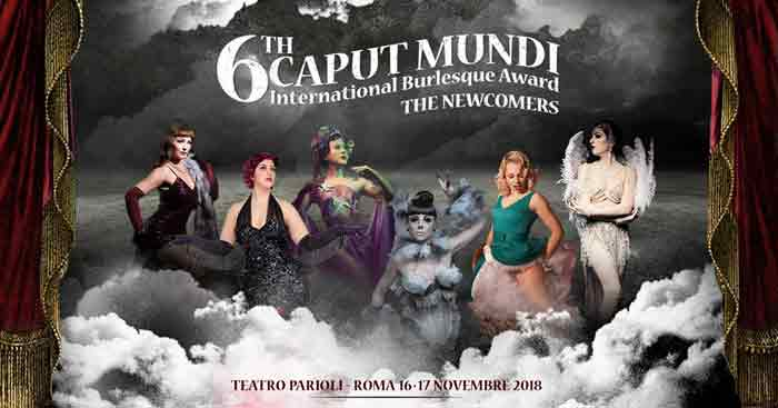 Caputmundi International Burlesque Awards-locandina