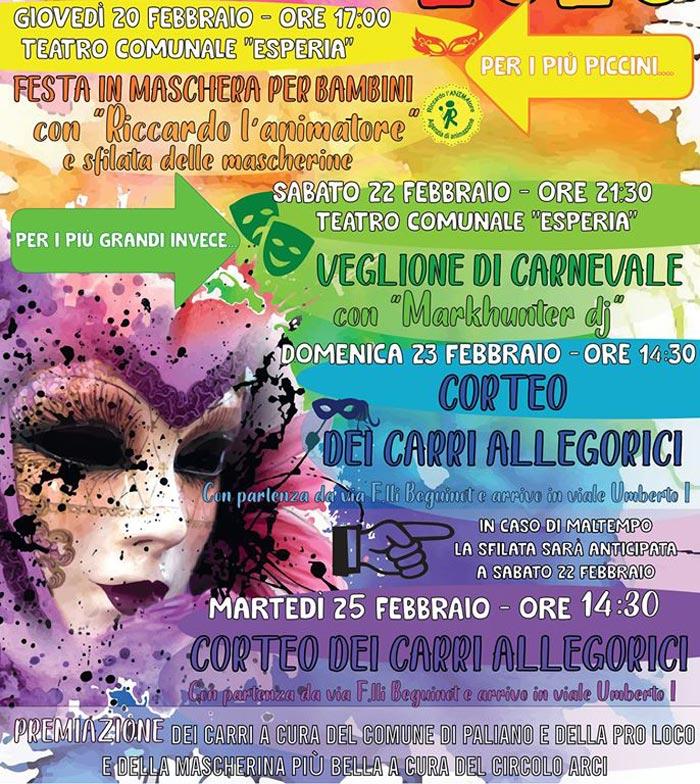 Carnevale di Paliano