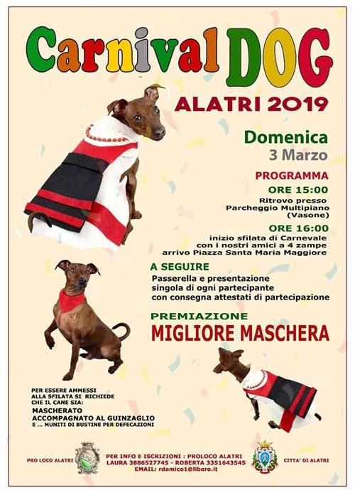 Carnival Dog Alatri 2019
