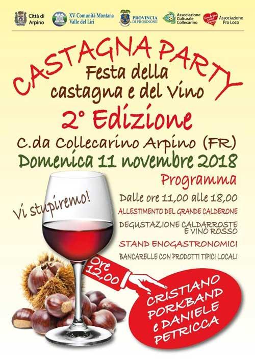 Castagna Party Arpino