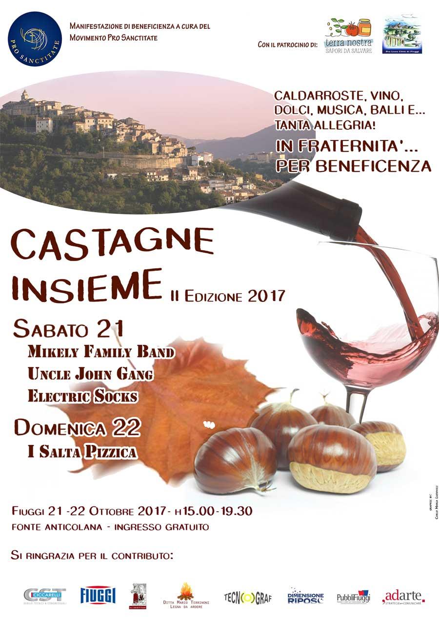 Castagne Insieme 2017 Fiuggi Terme