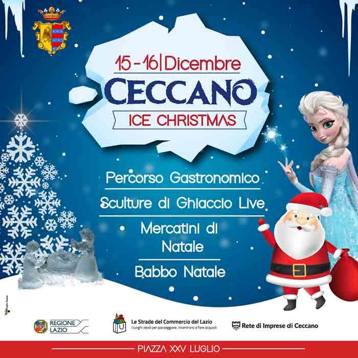 Ceccano Ice Christmas Locandina