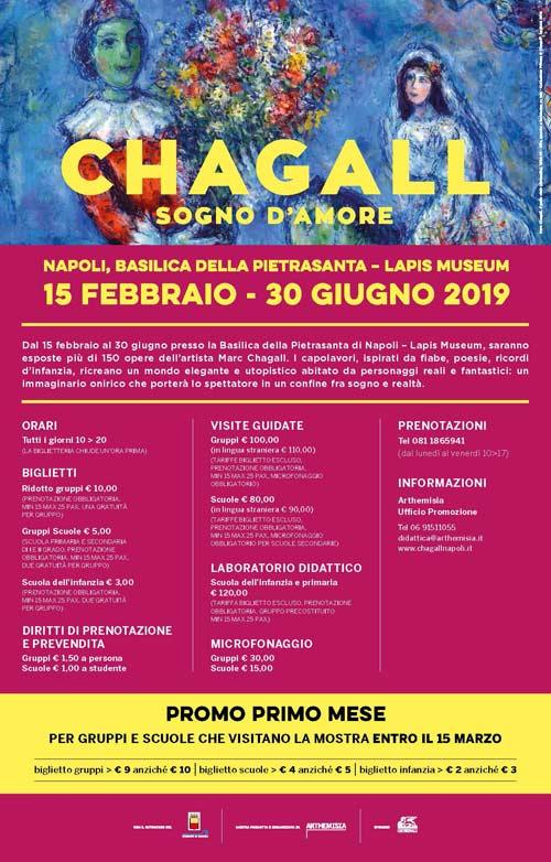 Chagal Sogno D'Amore Napoli