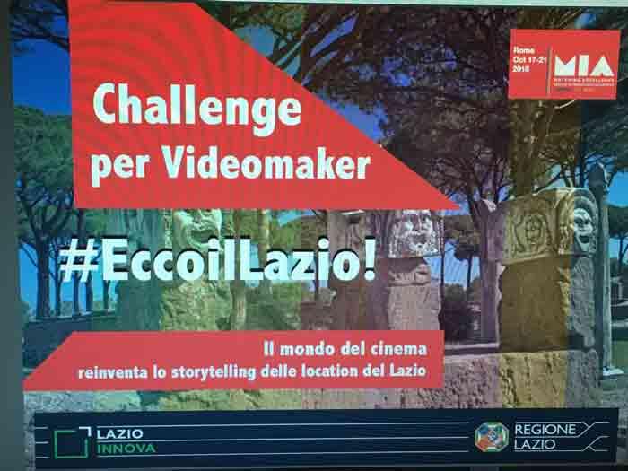 Challenge Ecco il Lazio Locandina