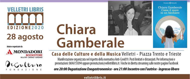 Chiara Gamberale a Velletri Libris