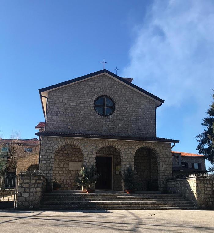 Chiesa Altipiani di Arcinazzo