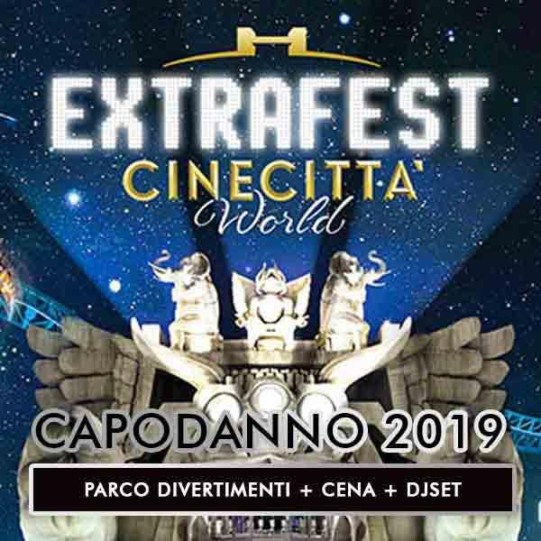 Cinecittà World Capodanno 2019 Locandina