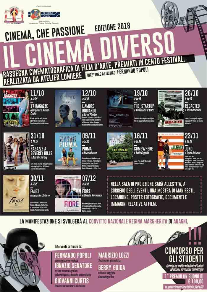 Cinema che Passione Anagni 2018
