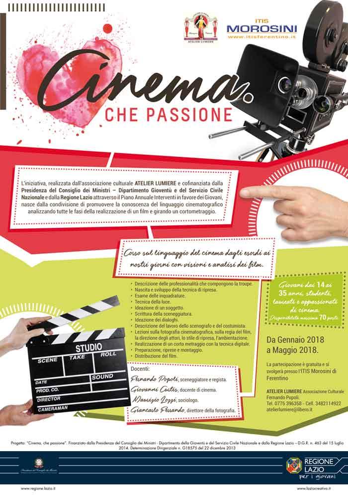 Cinema che passione Fernando Popoli
