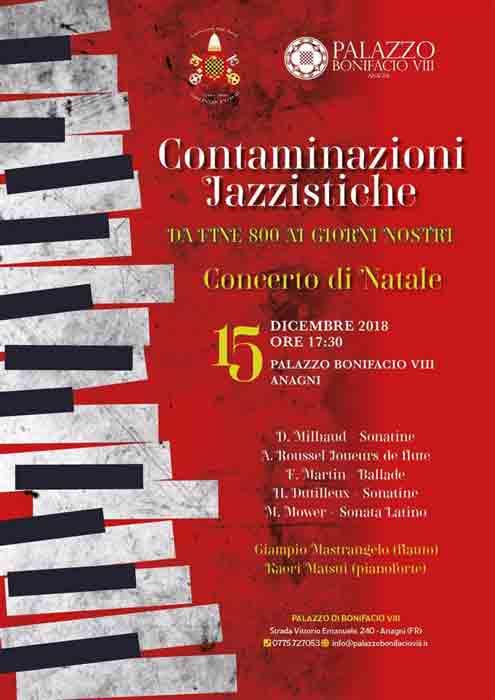 Concerto di Natale Anagni Locandina