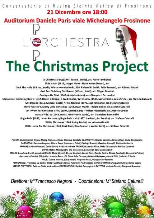 Concerto di Natale Conservatorio Frosinone