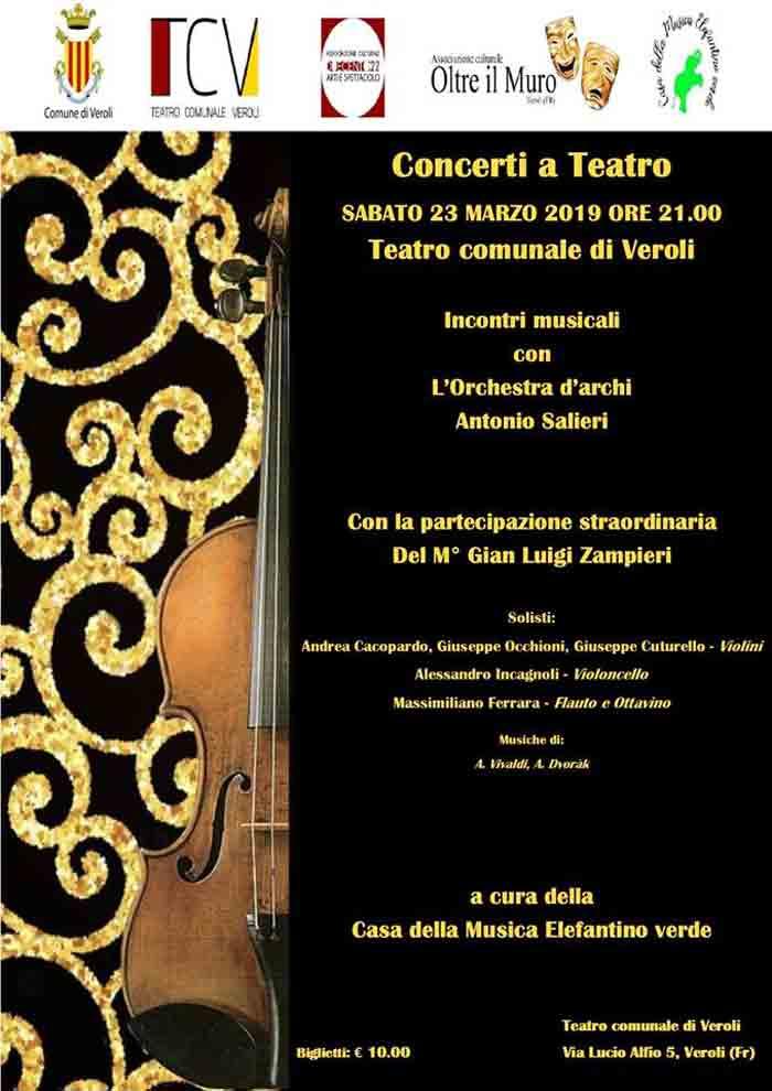 concerto teatrale Veroli
