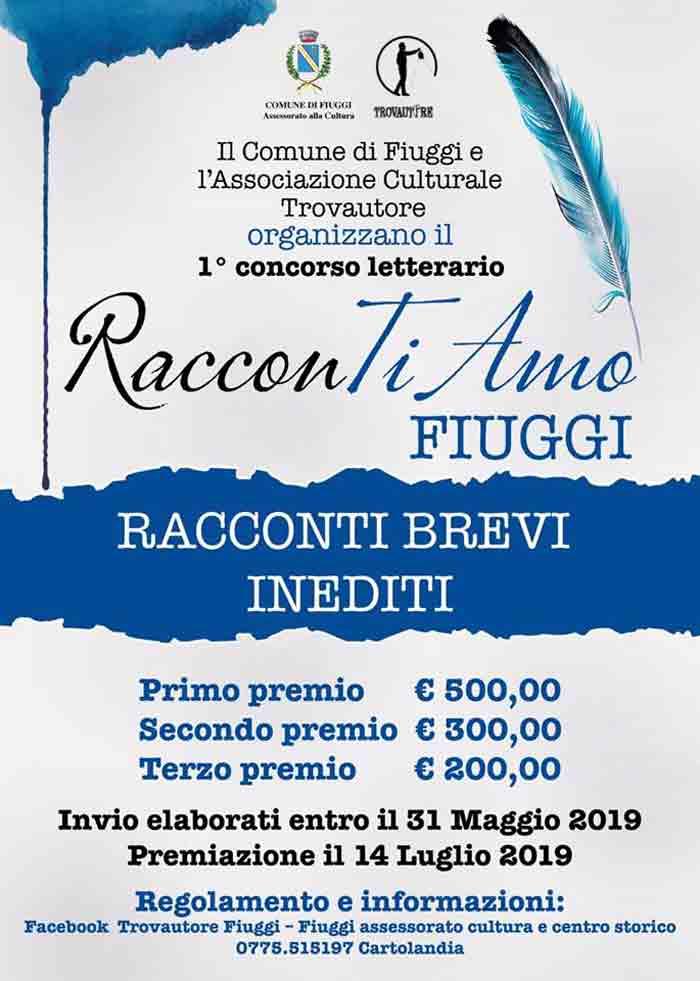concorso letterario Fiuggi