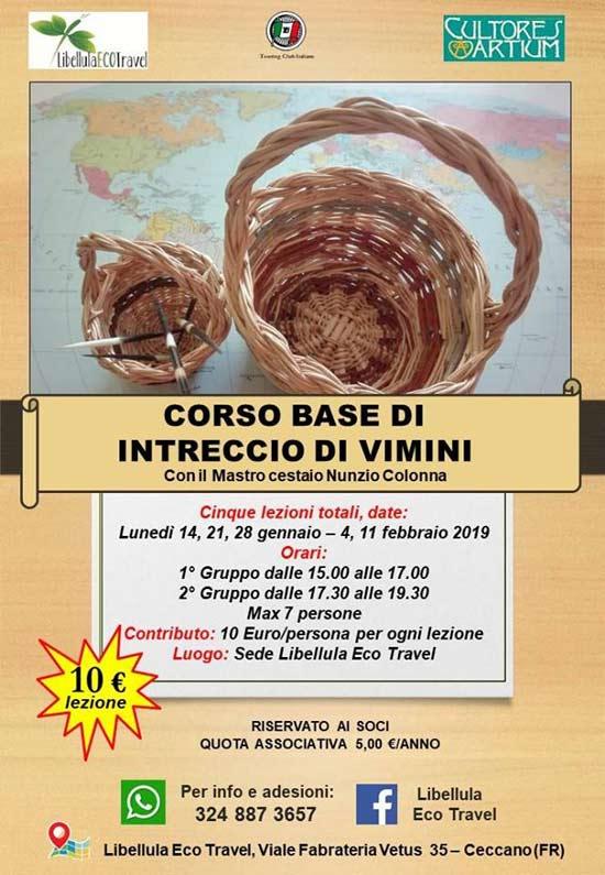 Corso Base Vimini 2019