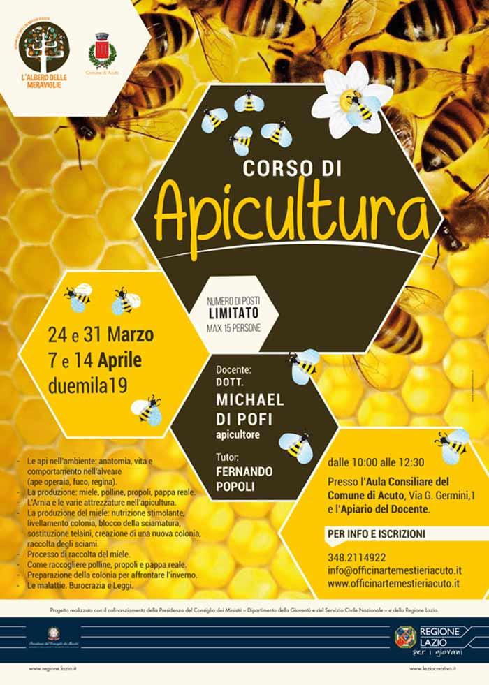 corso di apicultura Acuto