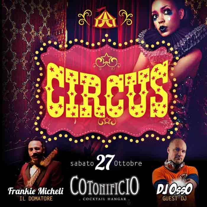 Cotonificio Circus Locandina