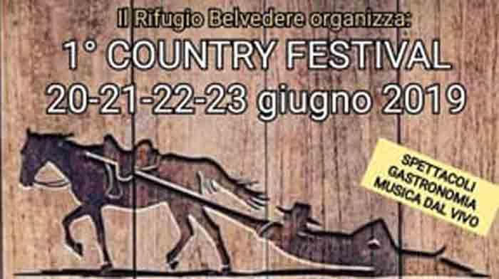 country festival Alvito locandina